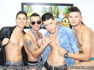 Webcam model NaughtyBoysLat4 from CamContacts