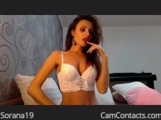 Webcam model Sorana19 from CamContacts