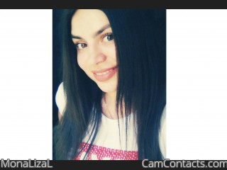 Webcam model MonaLizaL from CamContacts