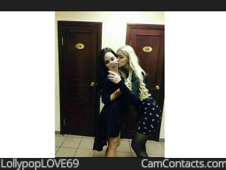 Webcam model LollypopLOVE69 from CamContacts