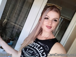 Webcam model Bonitka from CamContacts