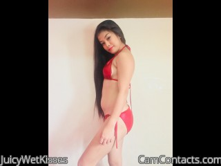 Webcam model JuicyWetKisses from CamContacts