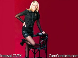 Webcam model InessaLOVEX from CamContacts