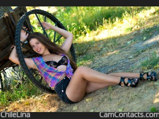 Webcam model ChileLina from CamContacts