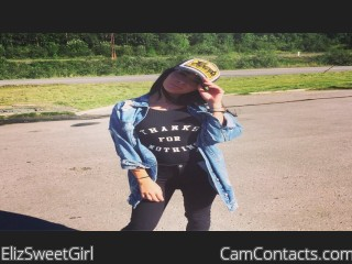 Webcam model ElizSweetGirl from CamContacts