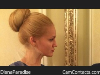 Webcam model DianaParadise from CamContacts