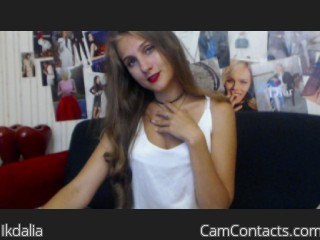 Webcam model Ikdalia from CamContacts