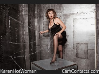 Webcam model KarenHotWoman from CamContacts