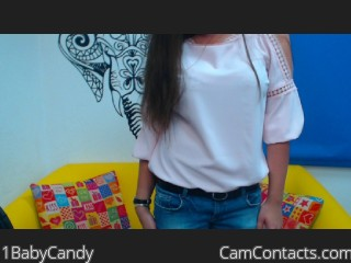 Start VIDEO CHAT with 1BabyCandy