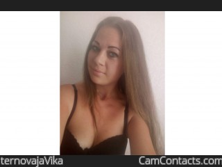 Webcam model ternovajaVika from CamContacts