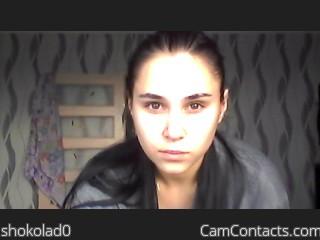 Webcam model shokolad0 from CamContacts
