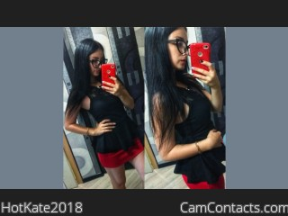 Webcam model HotKate2018 from CamContacts