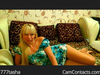 Webcam model 777tasha from CamContacts