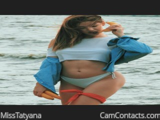 Webcam model MissTatyana from CamContacts