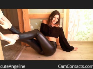 Webcam model cuteAngeline from CamContacts