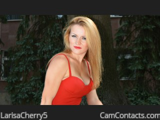 Webcam model LarisaCherry5 from CamContacts