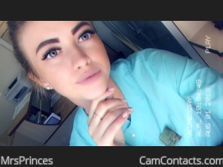Webcam model MrsPrinces from CamContacts