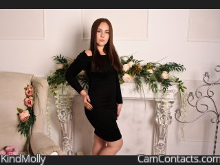 Webcam model KindMolly from CamContacts