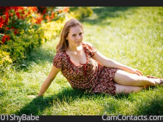 Webcam model 01ShyBabe from CamContacts