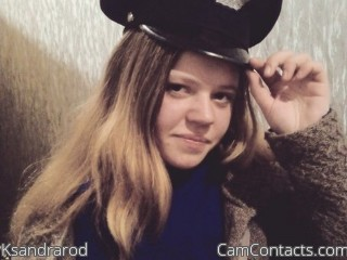 Start VIDEO CHAT with Ksandrarod