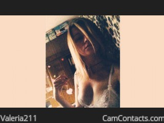 Webcam model Valeria211 from CamContacts