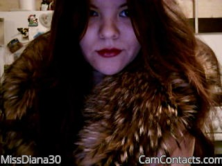 Webcam model MissDiana30 from CamContacts
