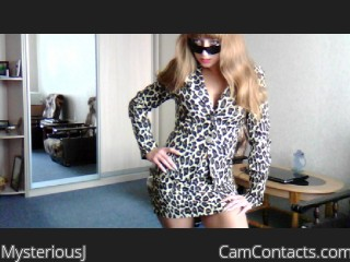 Webcam model MysteriousJ from CamContacts