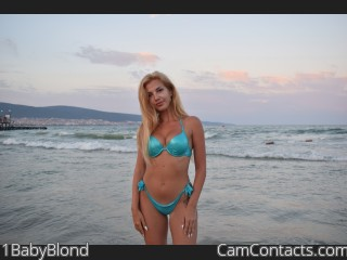 Webcam model 1BabyBlond from CamContacts
