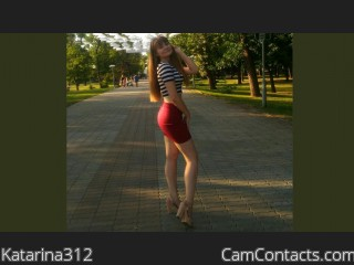Webcam model Katarina312 from CamContacts