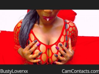 Webcam model BustyLoverxx from CamContacts