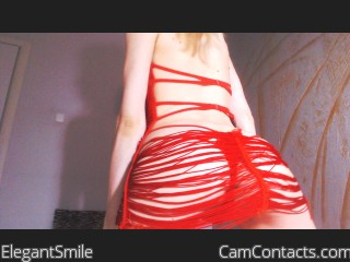 Webcam model ElegantSmile from CamContacts