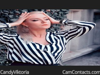 Webcam model CandyViktoria from CamContacts