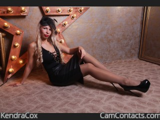 Webcam model KendraCox from CamContacts