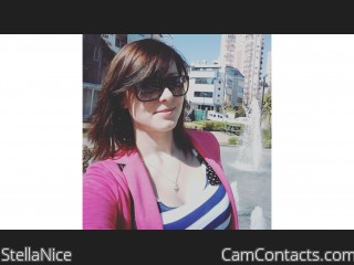 Webcam model StellaNice from CamContacts