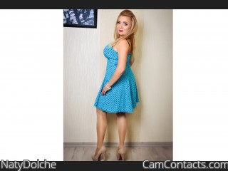 Webcam model NatyDolche from CamContacts