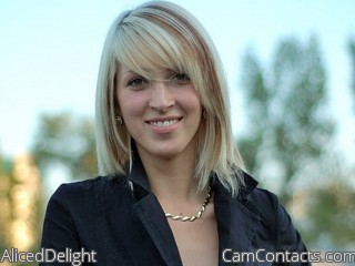 Webcam model AlicedDelight from CamContacts