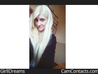 Webcam model GirlIDreams from CamContacts