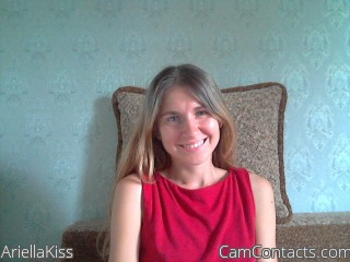Start VIDEO CHAT with AriellaKiss