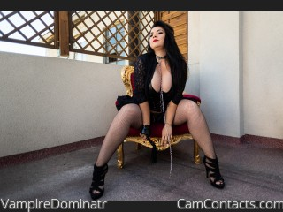 Webcam model VampireDominatr from CamContacts