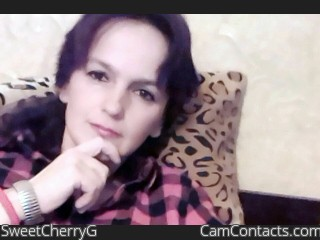 Webcam model SweetCherryG from CamContacts