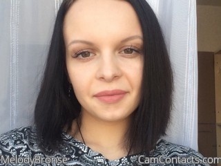 Webcam model MelodyBronse from CamContacts