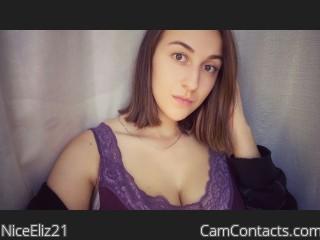 Webcam model NiceEliz21 from CamContacts
