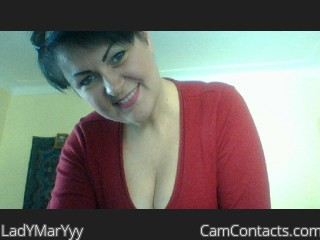 Webcam model LadYMarYyy from CamContacts