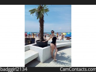 Webcam model badggirl2134 from CamContacts