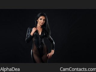 Webcam model AlphaDea from CamContacts