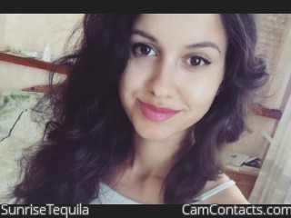 Webcam model SunriseTequila from CamContacts