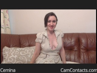 Webcam model Cemina from CamContacts