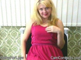 Webcam model CathyForLove from CamContacts