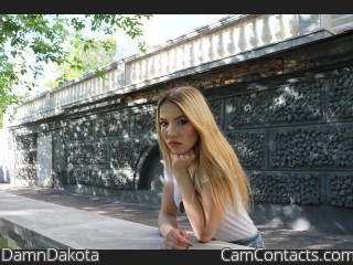 Webcam model DamnDakota from CamContacts