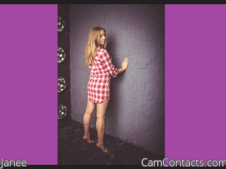 Webcam model Janee from CamContacts